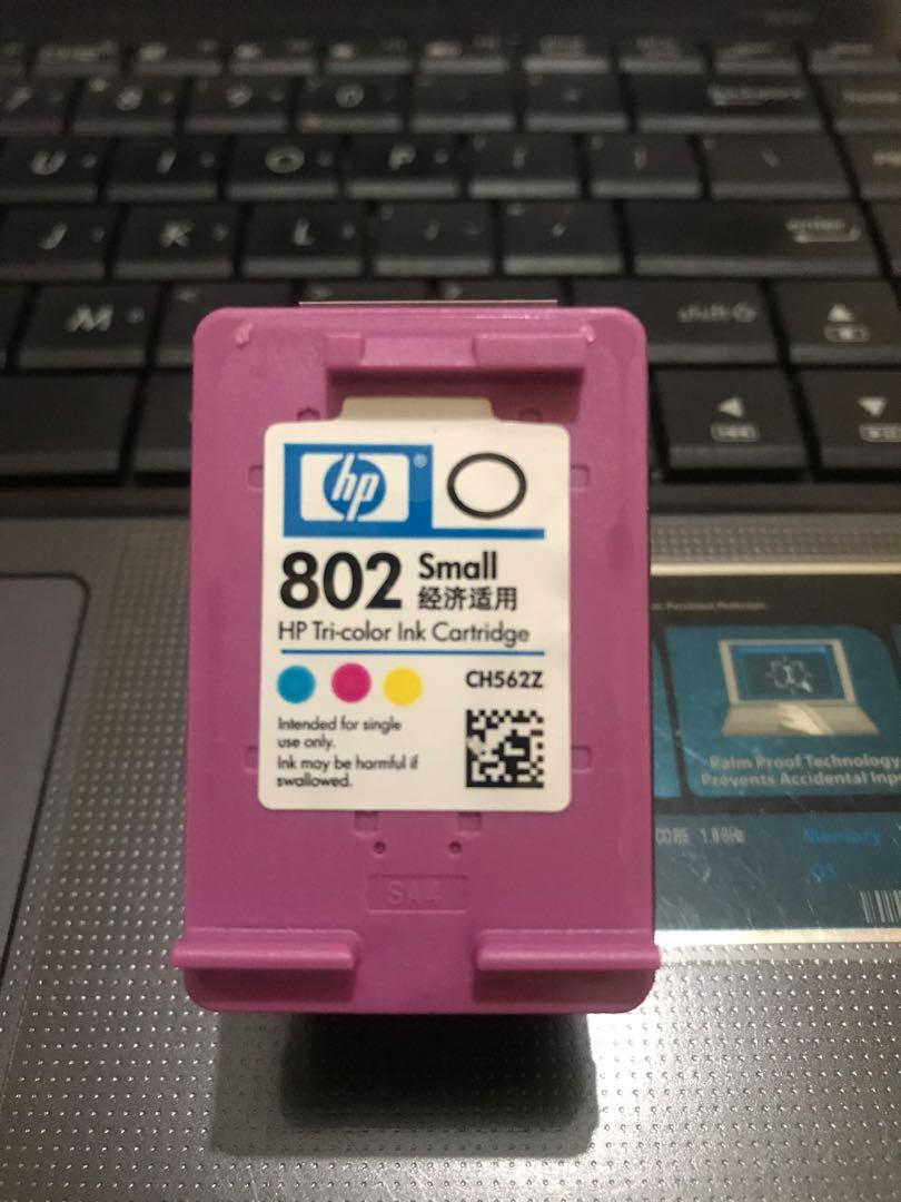 Original HP 802 small color