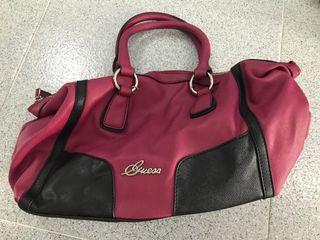 Original pink GUESS hand bag