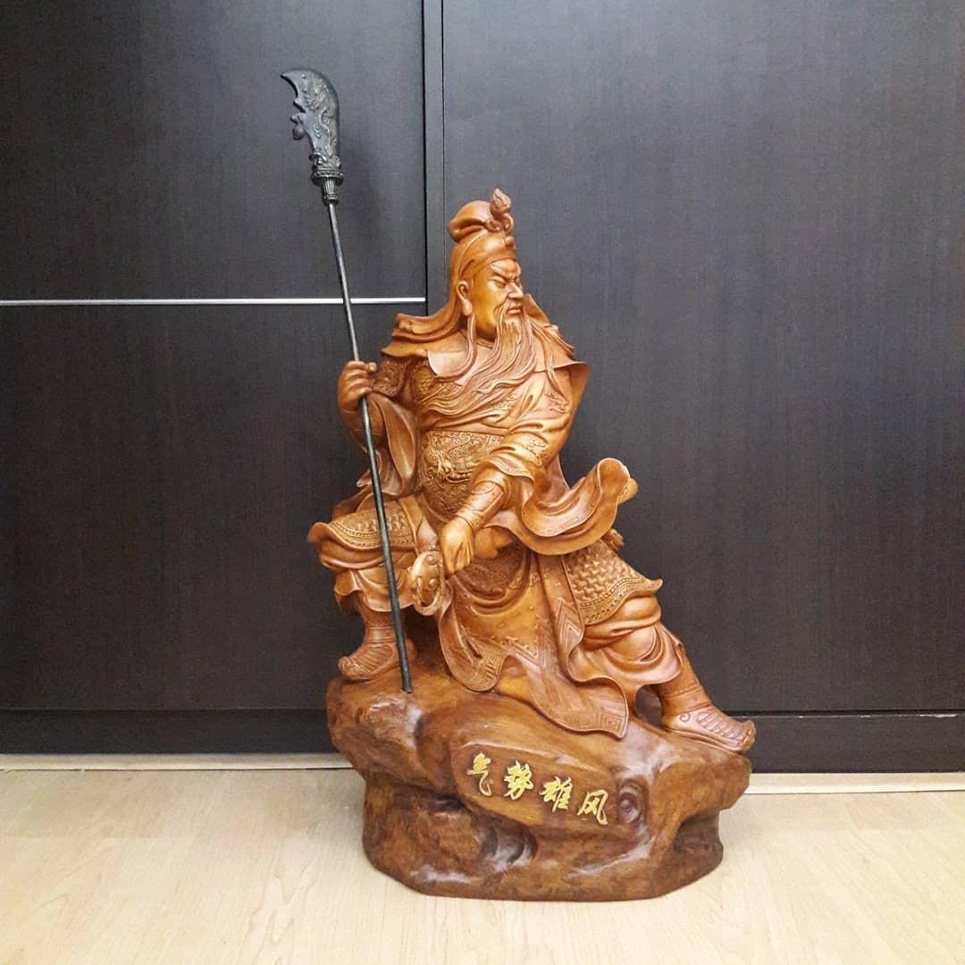 patung china