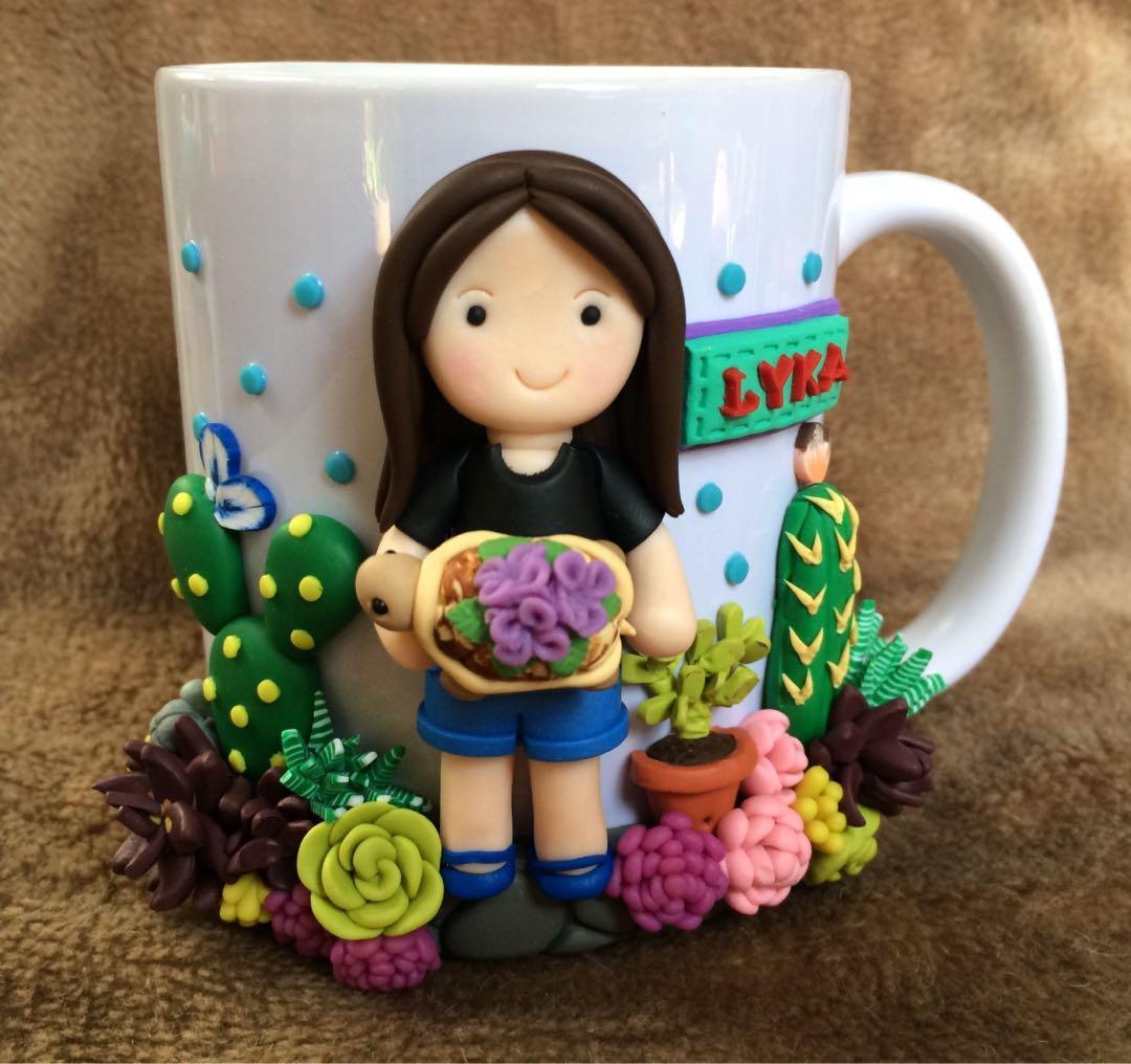 Polymer Clay Mug Design Craft Handmade Goods Accessories On Carousell