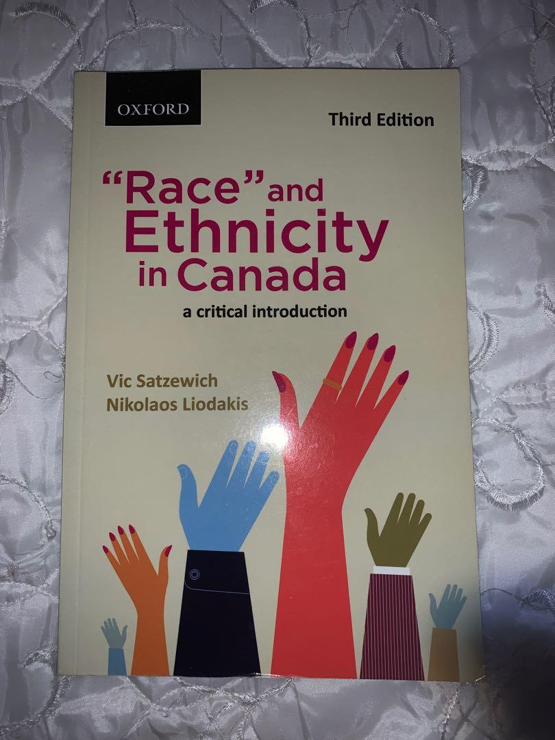"""""""Race"""" and Ethnicity in Canada Third Edition"""
