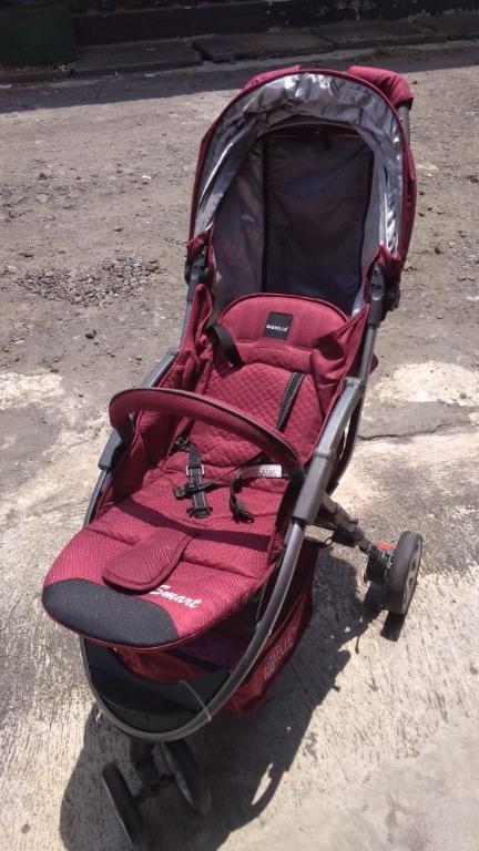Stroller ungu (cuci stroller murah Jogja, uk besar/kecil harga beda)