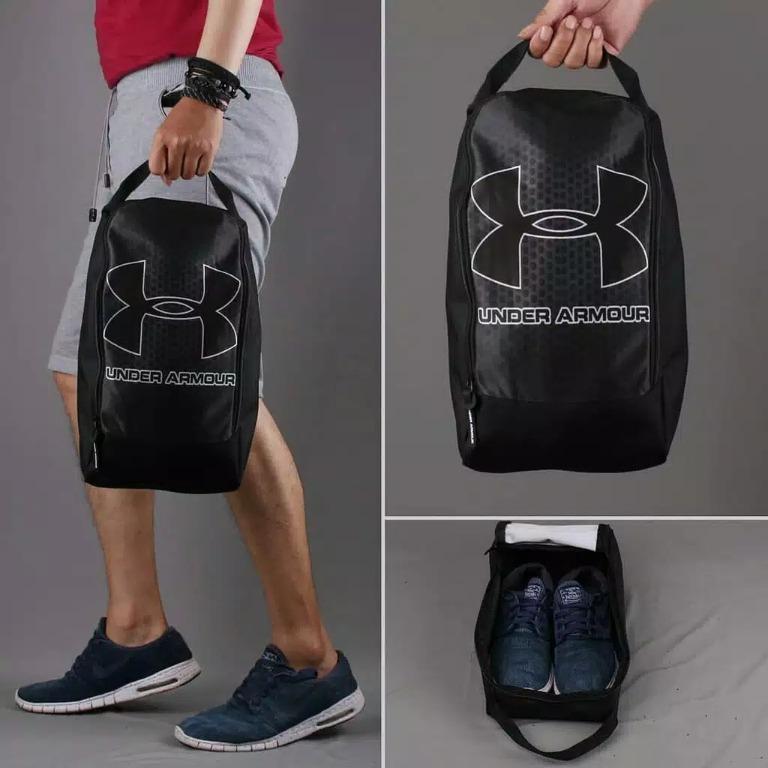 Tas Sepatu Bola/Futsal Grade Ori UA BLACK