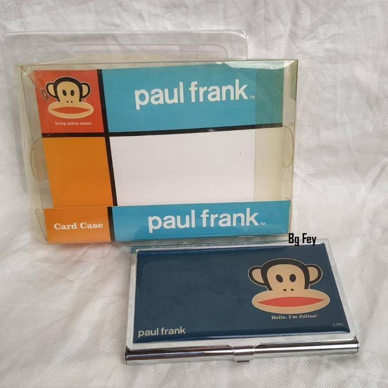 Tempat Kartu Stainless Steel Paul Frank Original