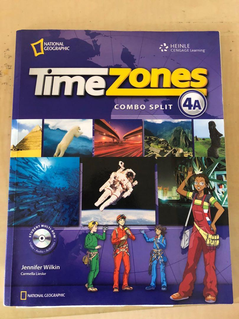 Timezones 英文課本