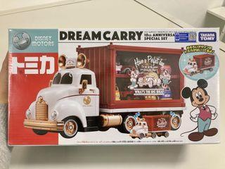 Tomica Disney Motors系列合金車 - Dream Carry  10週年特別版