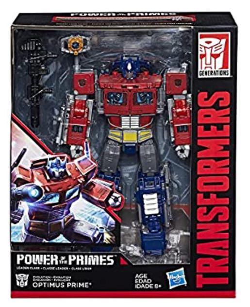 Transformers Hasbro Optimus Prime Leader Class Power of the Primes Sealed