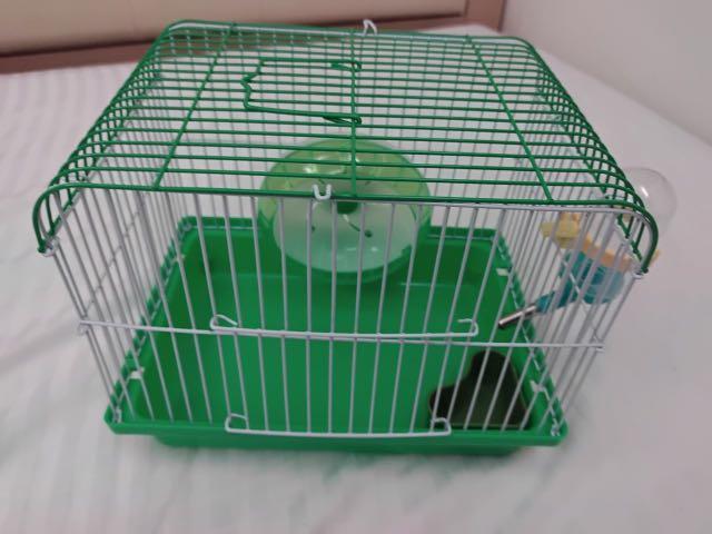 《九成新》倉鼠籠 單層鼠籠 外出籠 食碗 飲水器