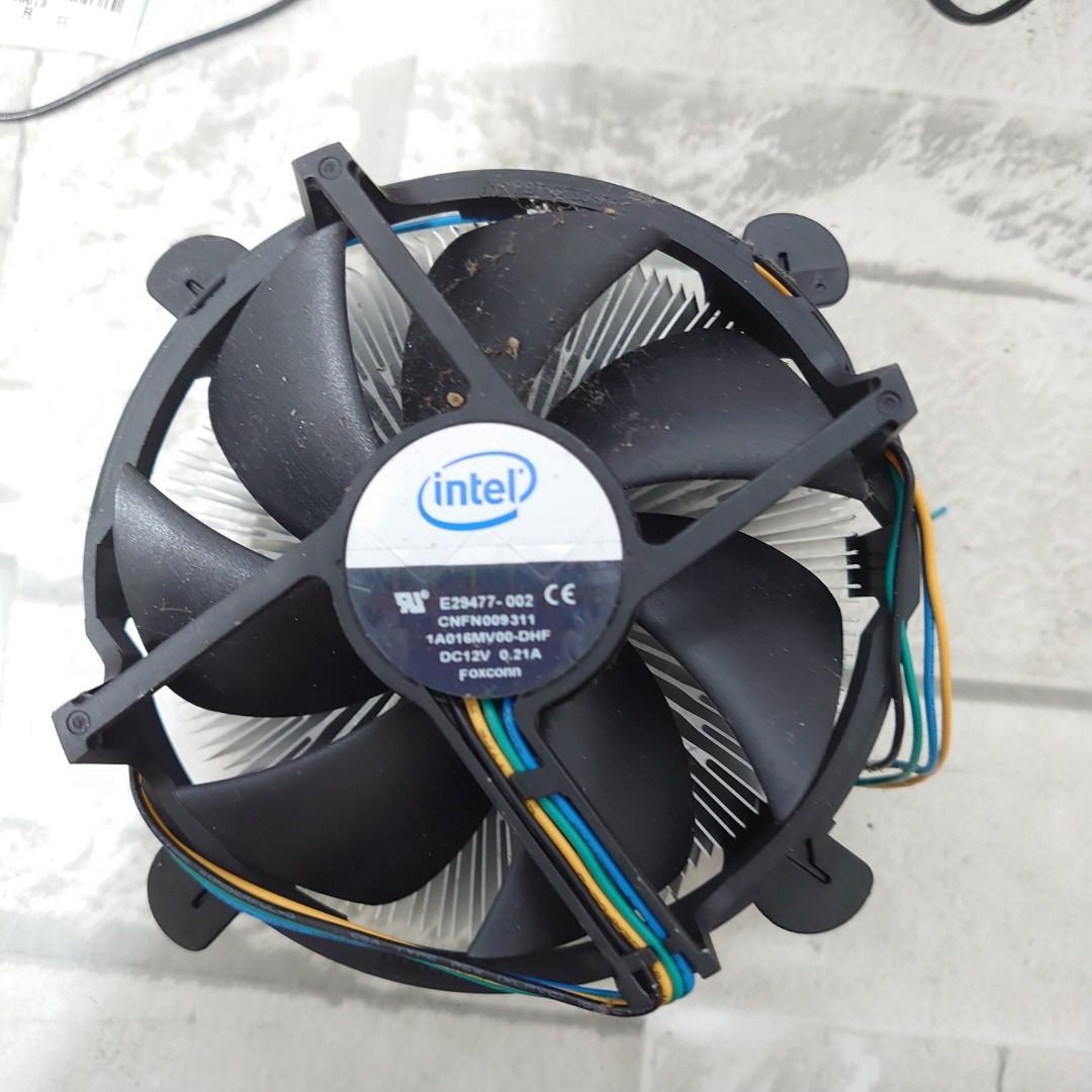 送咖啡 LGA 1366 英特爾  原廠 處理器風扇  非 XEON 伺服器 I7 電競 創作者