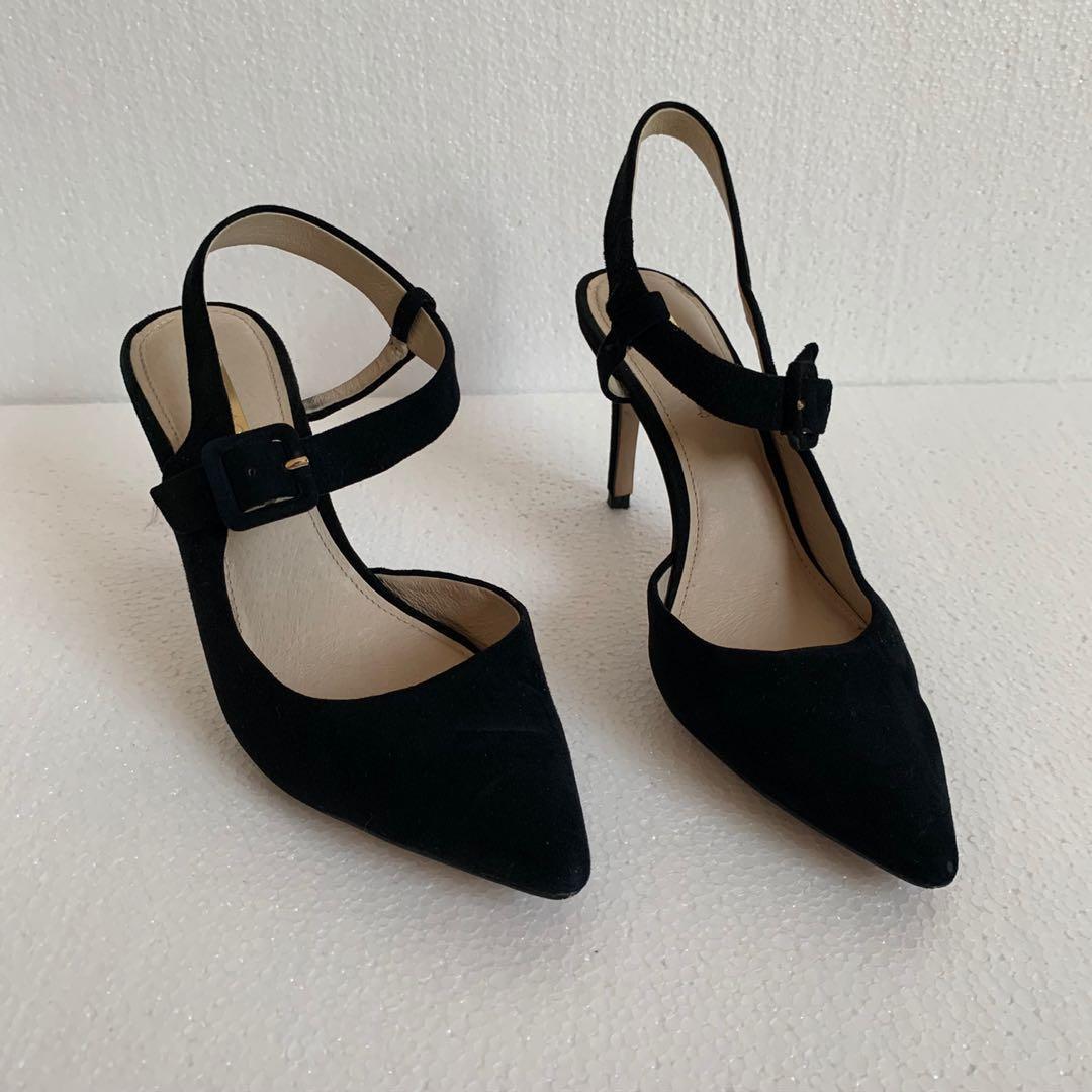 Black heels (size 38)