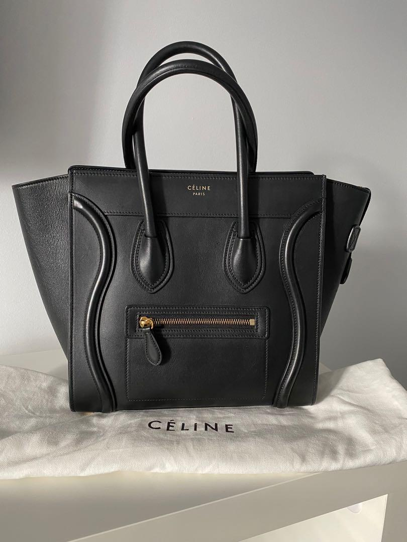 Celine  Micro Bag in Black