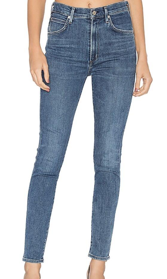 Citizens of Humanity Chrissy High Rise Denim