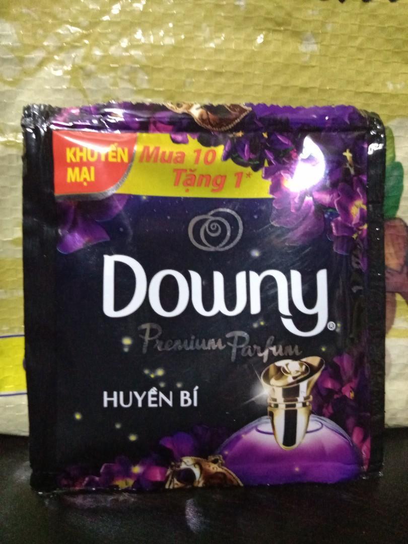 Downy香水柔軟精 隨身包 神秘黑 20ml