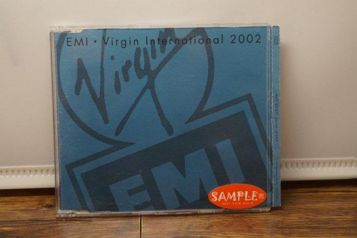 流行音樂/EMI VIRGIN INTERNATIONAL SAMPLE 2002/二手CD #二手價