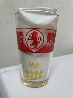 F&N lion glass