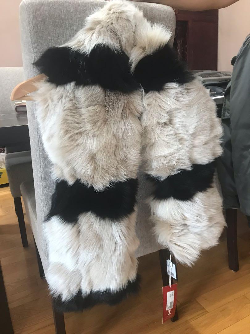 Miss Money Money fur wrap
