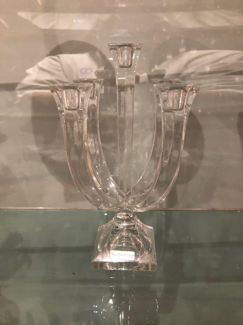 Nachtmann crystal candle holder