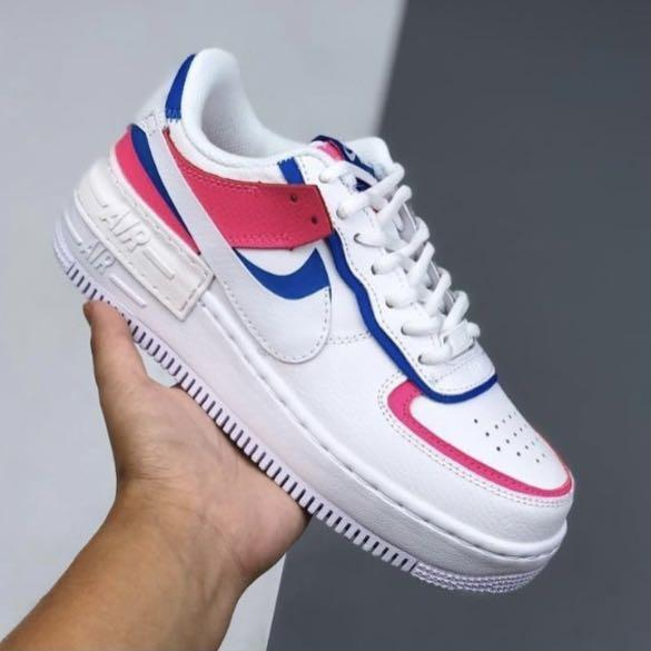 Nike Shadow Air Force 1 Cotton Candy Women S Fashion Shoes Sneakers On Carousell Nike air force 1 premium. carousell