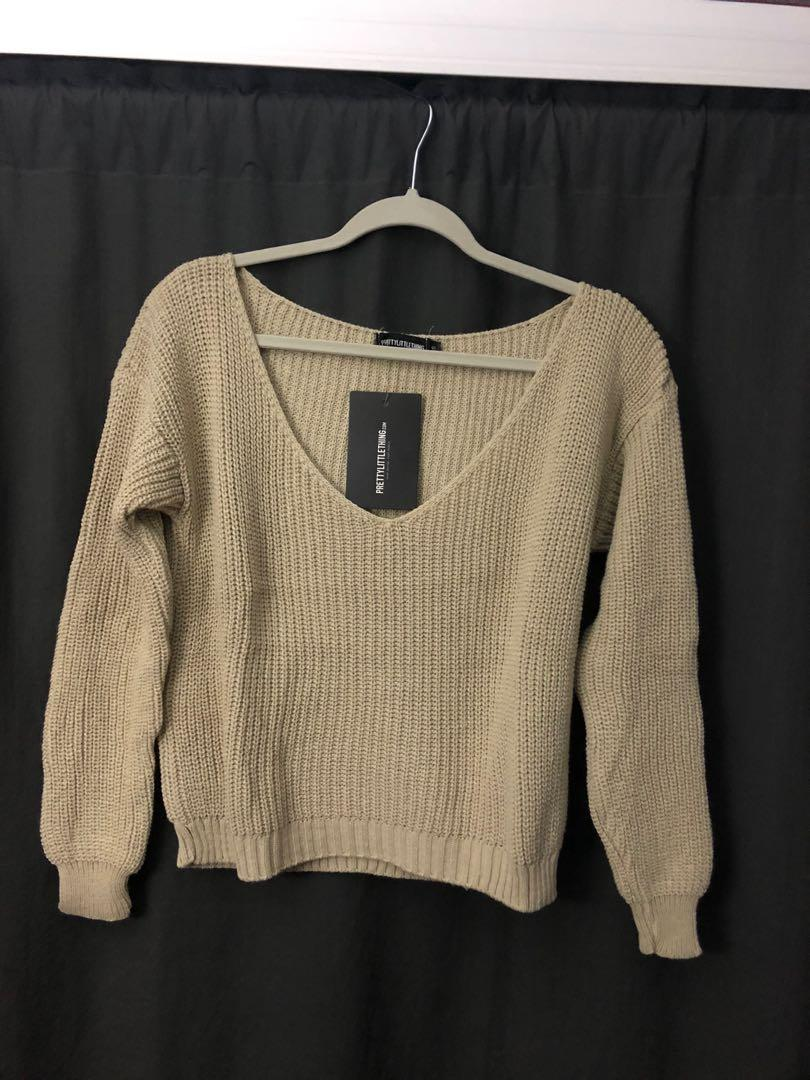 PrettyLittleThing Knitted Sweater