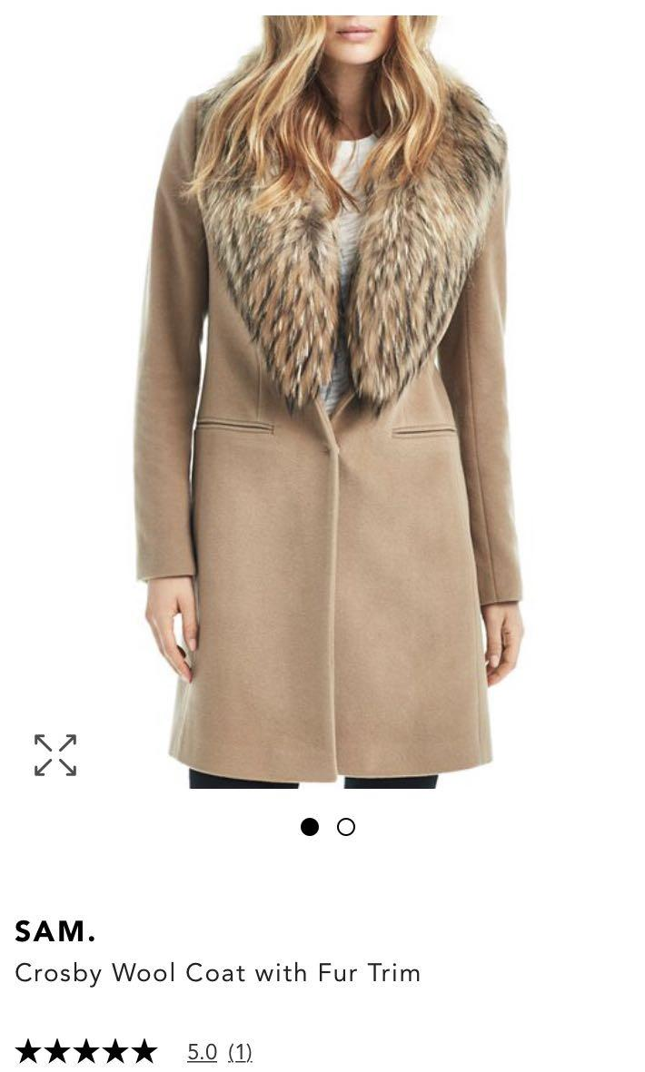SAM New York Crosby Wool Coat