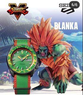 Seiko 5 X Street Fighters V Limited Edition