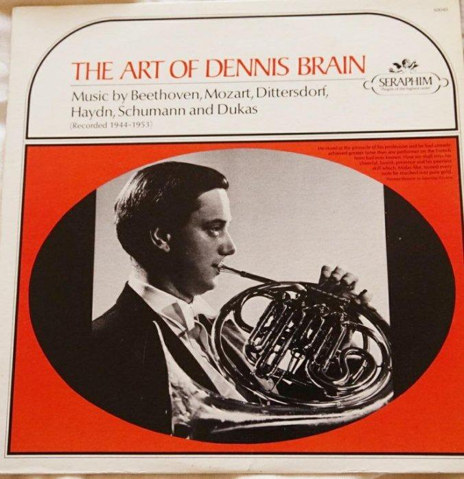黑膠古典/加版SERAPHIM/The art of Dennis Brain/法國號協奏曲/NM-  #二手價