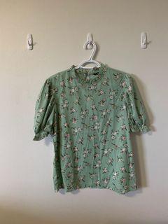 Shein Floral Shirt