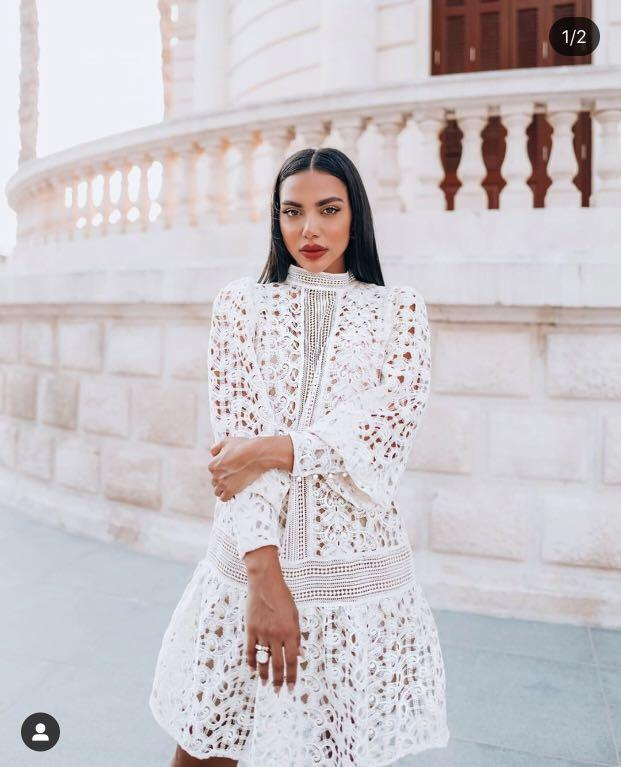 Sold out H&M lace dress blogger favourite zimmermann dupe