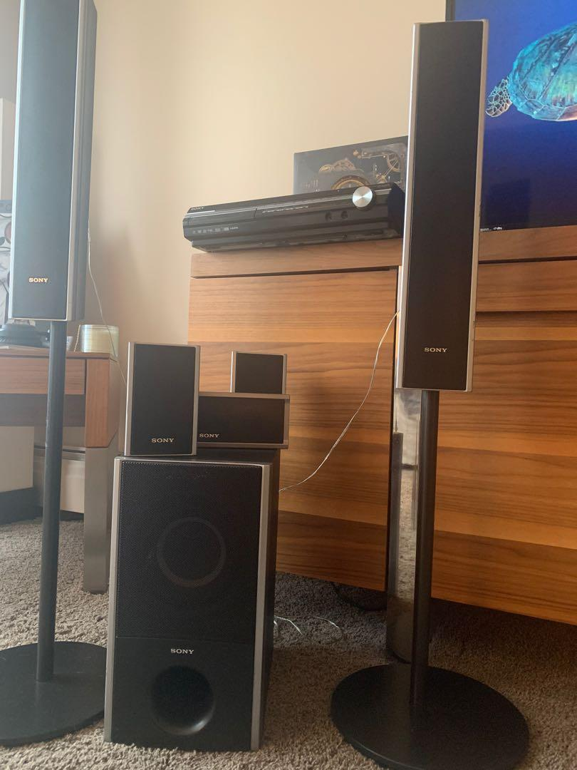 Sony s master digital amplifier dvd/cd player and home theatre system