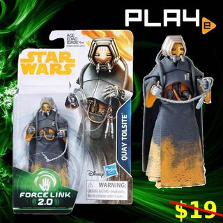 Quay Tolsite Solo Force Link 2.0 Figure MISB New Sealed Excellent
