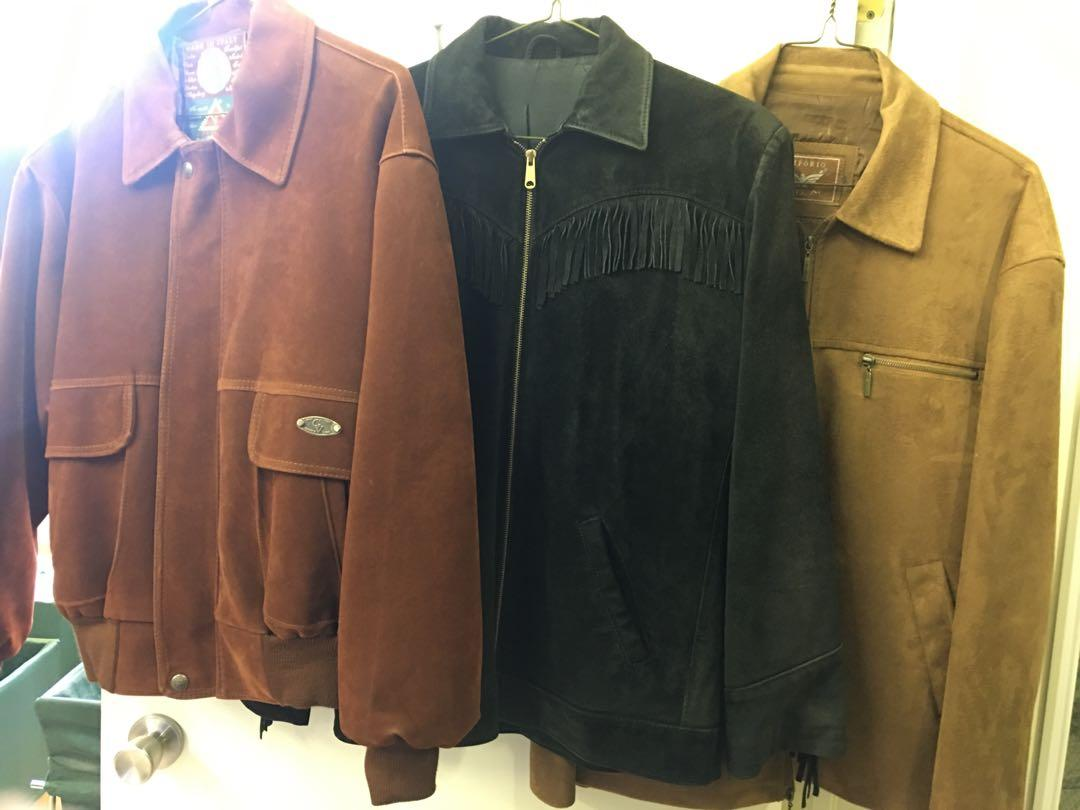 Suede Men's Jackets