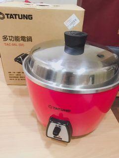 大同TATUNG桃紅限定款 六人份多功能電鍋 TAC-06L(DI)