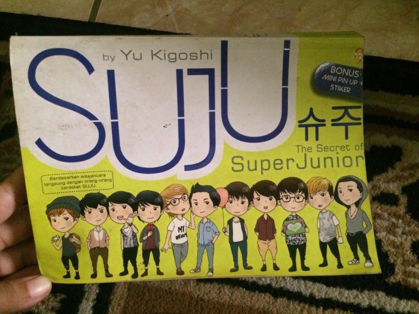 The Secret of Super Junior by Yu Kigoshi