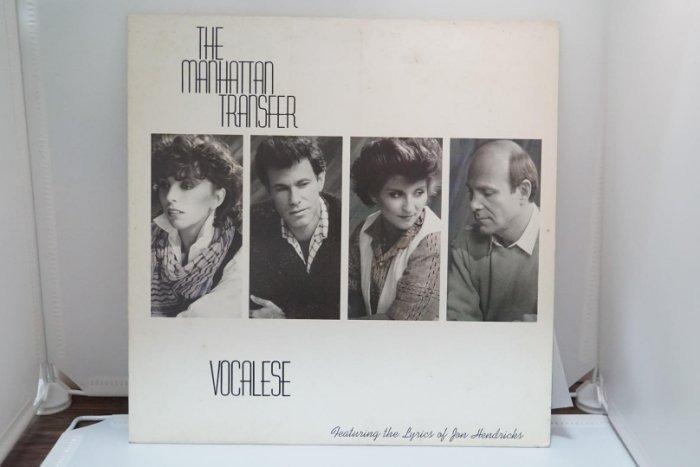 黑膠流行/VOCALESE/THE MANHATTAN TRANSFER曼哈頓轉車站合唱團/數位錄音/單片/NM  #二手價