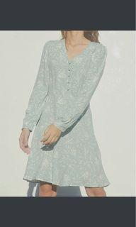 Warehouse floral mini dress