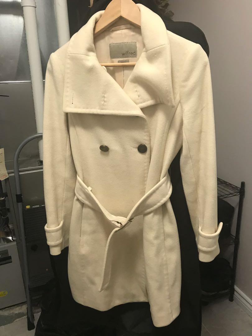 Wilfred wool trench coat