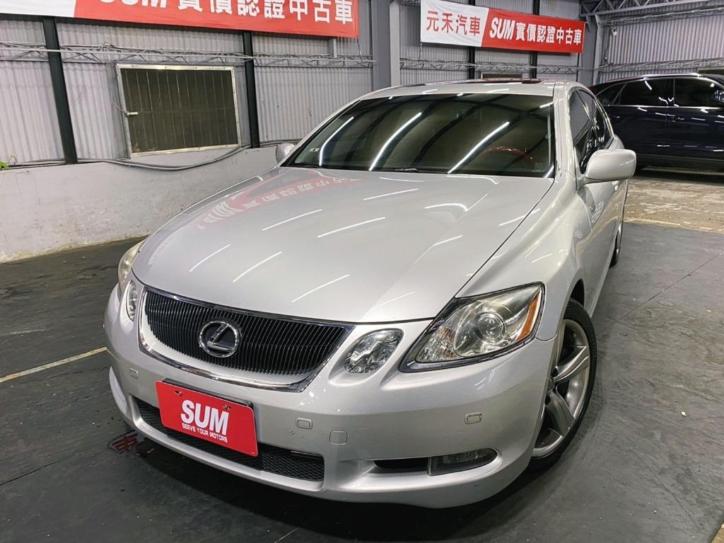 正2007年 Lexus Gs350 3.5頂級運動版,新車價298萬
