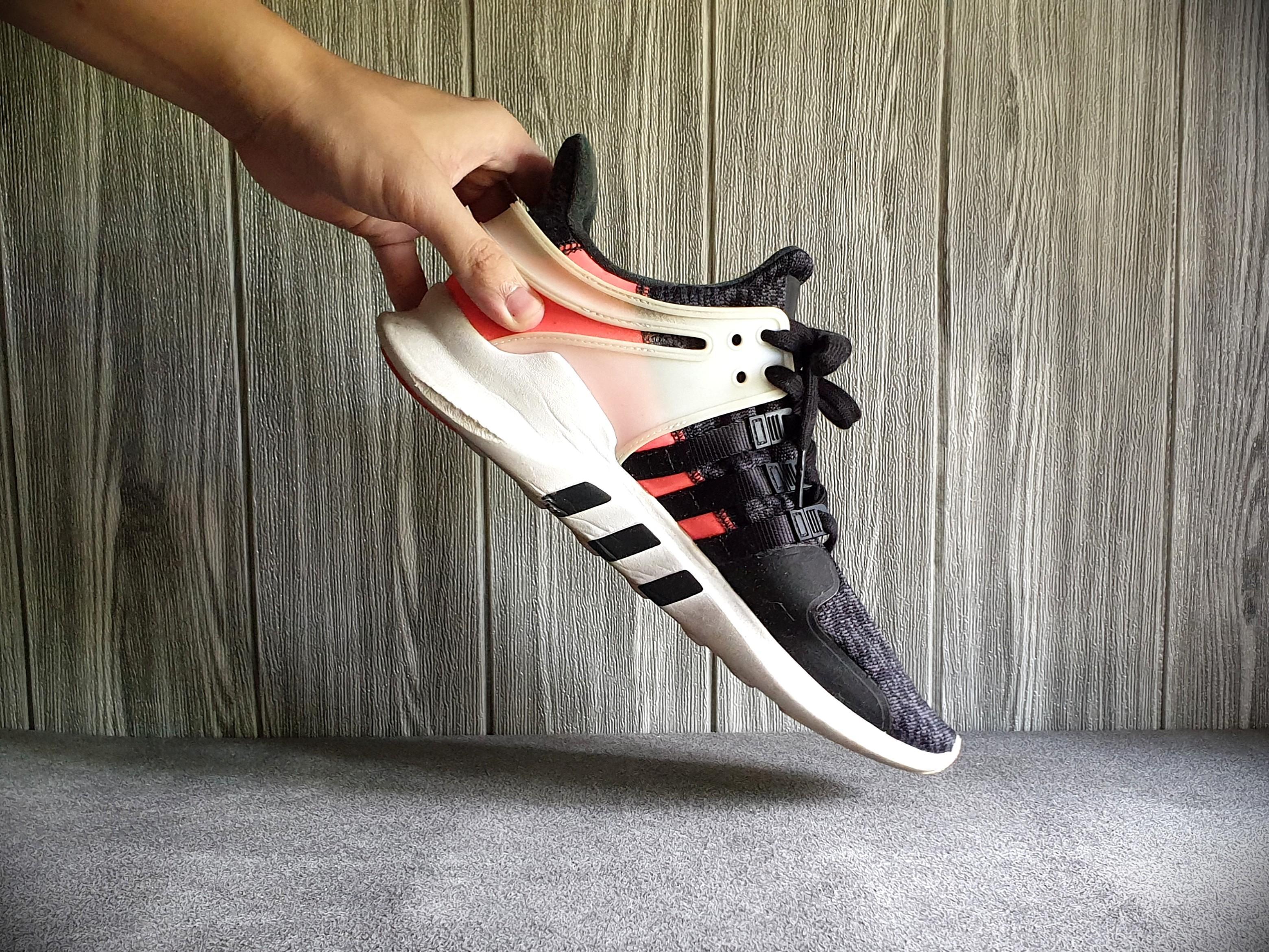Adidas EQT Support AdV Solar Pink (US 10.5 / UK 10), Men's Fashion ...