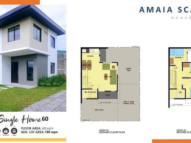Amaia Scapes House Lot For Sale Property For Sale House Lot On Carousell