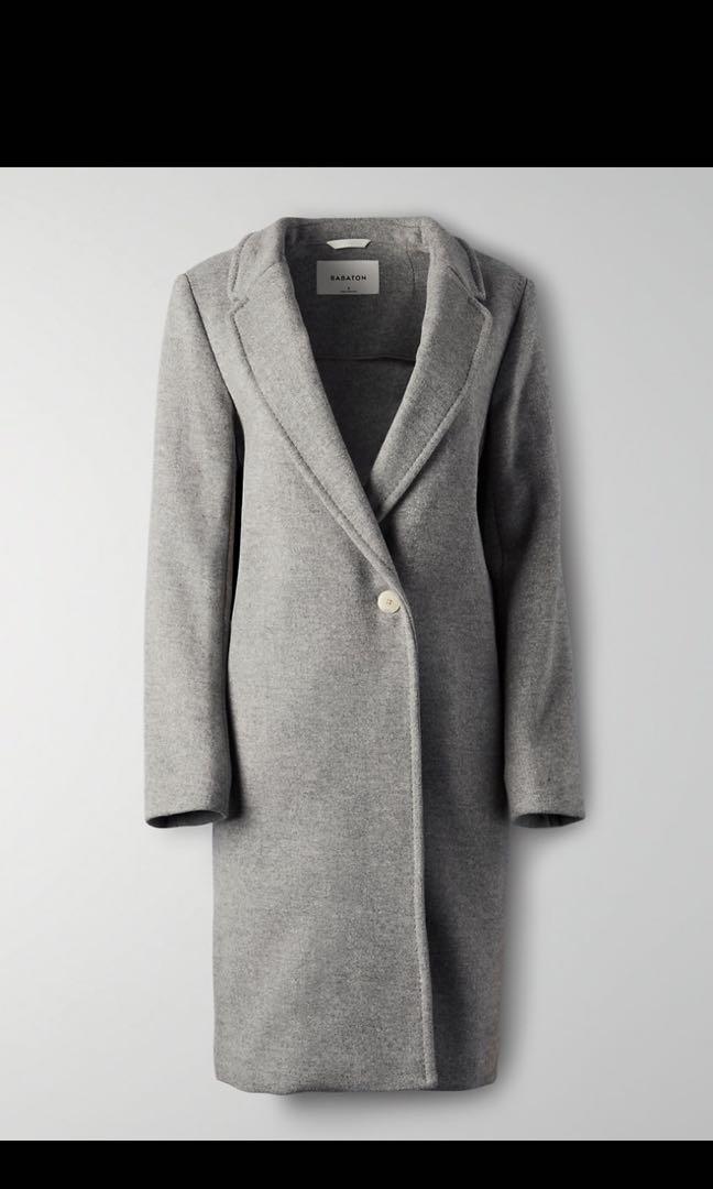 Aritzia Stedman Wool Coat