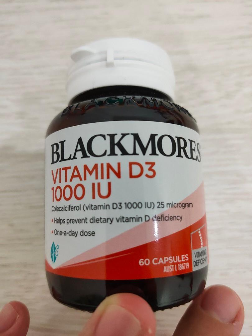 Blackmores Vit D3 1000 IU