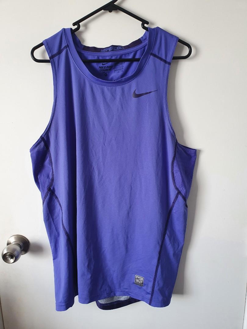 Blue Nike Singlet