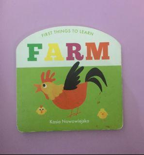 Boardbook FARM best seller BBW
