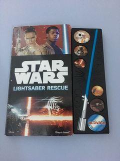 Boardbook Star Wars Lightsaber (ada suara)