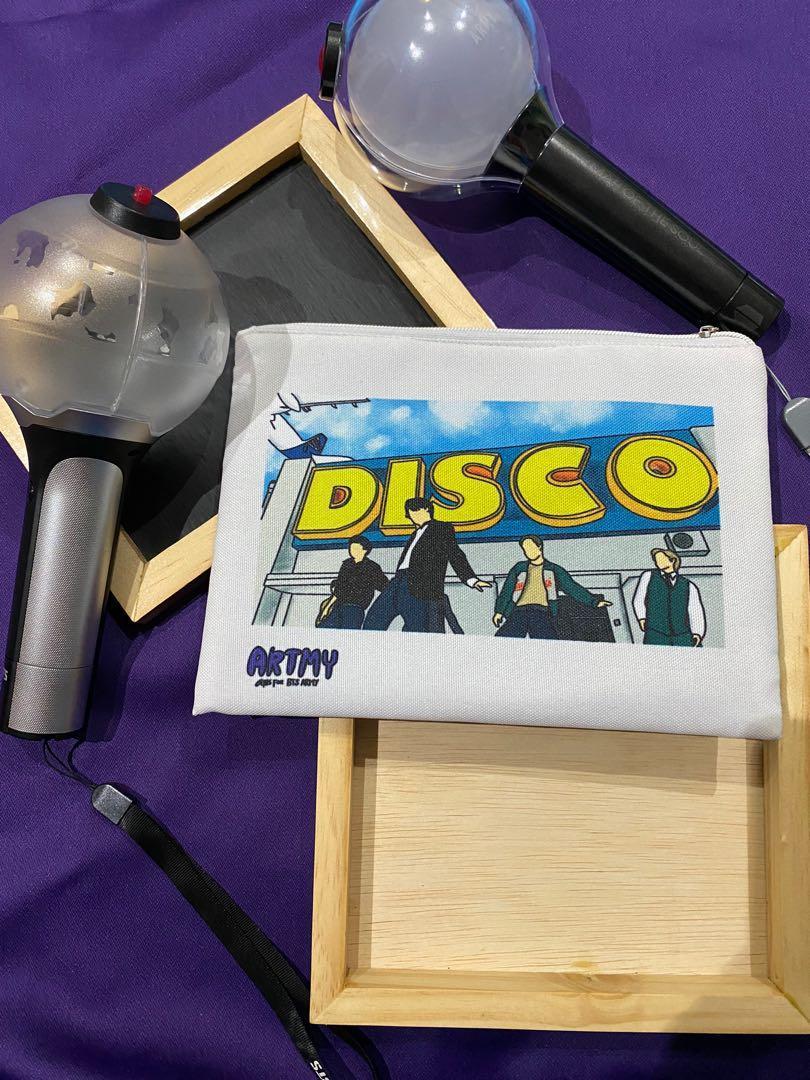 BTS DISCO Dynamite Pouch (Fanart limited)