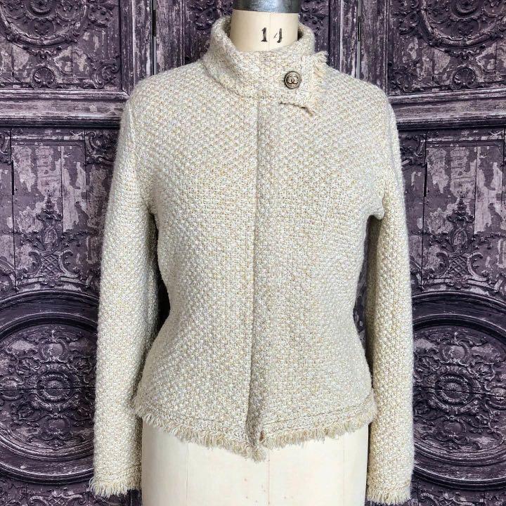 Chanel knit cardigan jacket