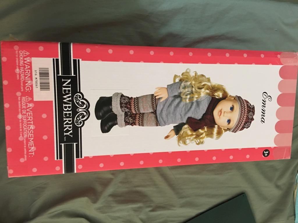 Doll new in box, obo