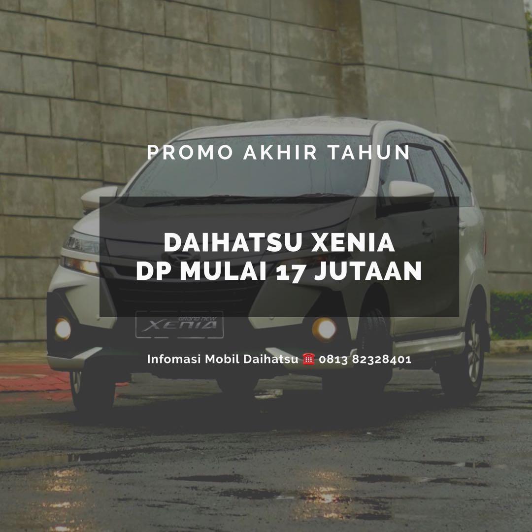 DP RINGAN Daihatsu Xenia mulai 17 jutaan. Daihatsu Fatmawati