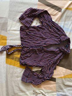 Forever 21 Tie Crop Top