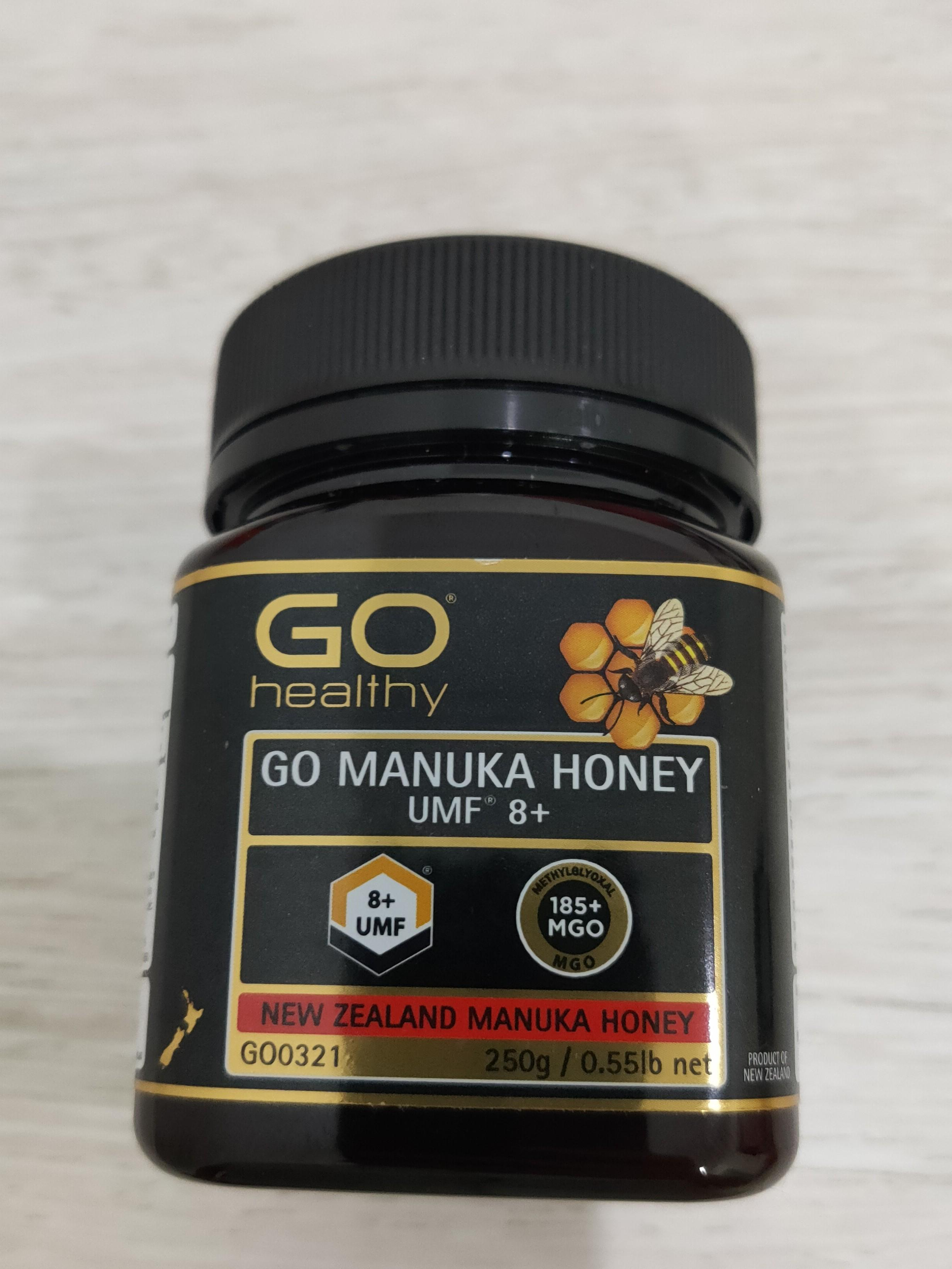 GO healthy - GO MANUKA HONEY UMF 8+, MGO 185+